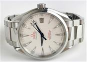 OMEGA WATCH SEAMASTER AQUA-TERRA CO-AXIAL WITH BOX AND PAPERS